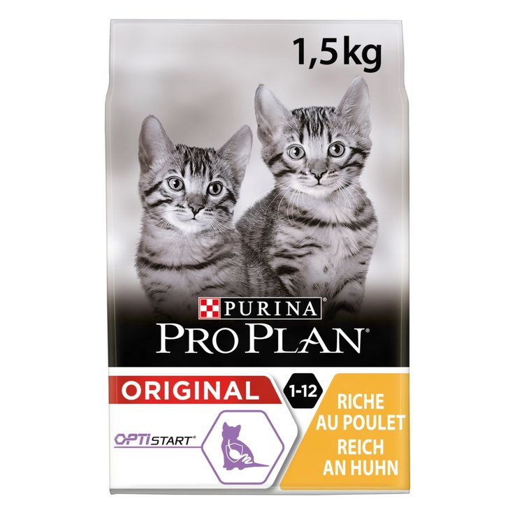 Dry Food - ProPlan Chicken & Rice Dry Junior Cat Food