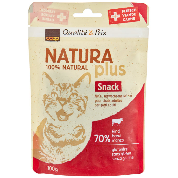 Snacks and Cat Milk - Naturaplus Beef Cat Snacks