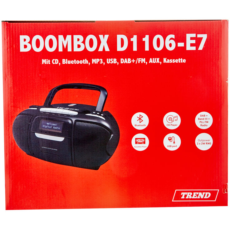Household Appliances & Wires - Trend D1106 Boombox