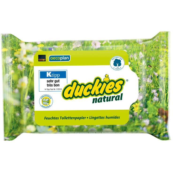 Salviette umidificate - Duckies Oecoplan Feucht natural