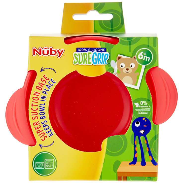 Dishes - Nûby Miracle Silicone Suction Bowl 6 Months+