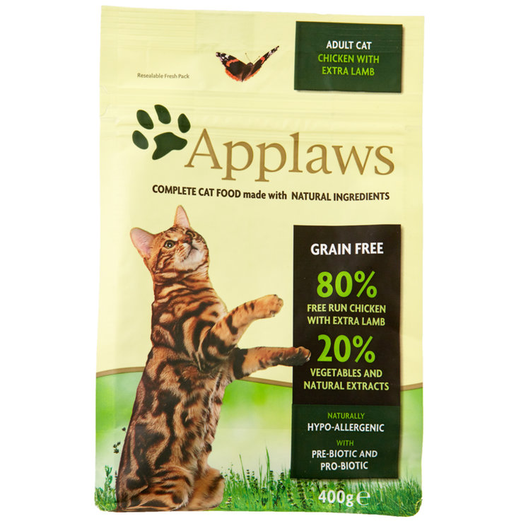 Dry Food - Applaws Cat Adult Chicken Lamp