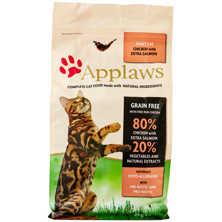 Dry Food - Applaws Cat chicken with Salmon