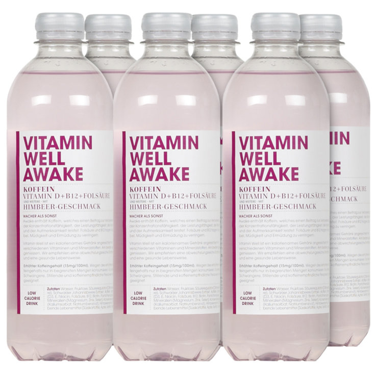 Boissons sportives - Vitamin Well Awake 6x  50cl