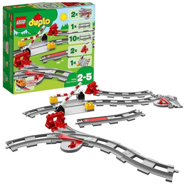 LEGO - Lego Duplo 10882 Train Tracks 2-5 Years