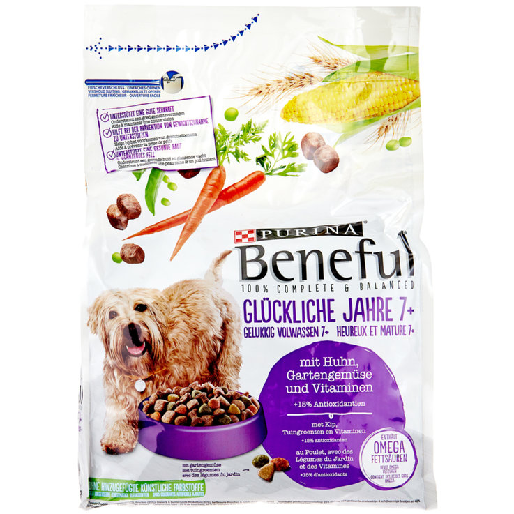 Dry Food - Beneful Chicken Flavoured Dry Senior Dog Food