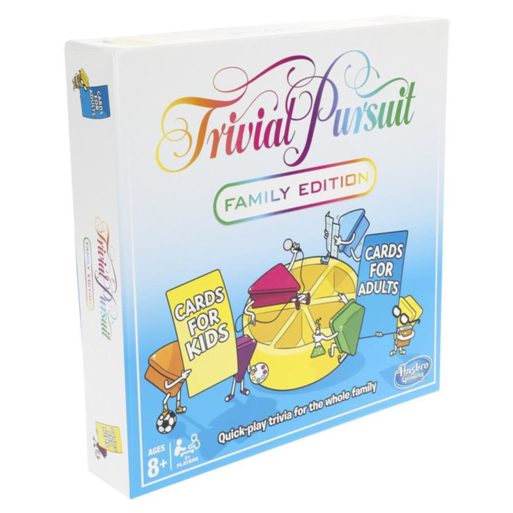 Games & Puzzles - Trivial Pursuit Family Edition 8 Years+