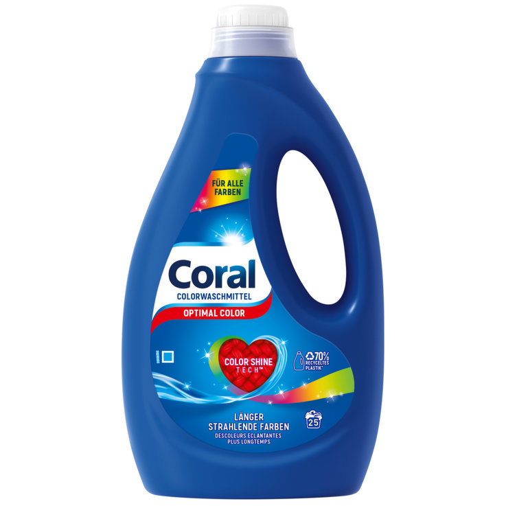 Colour - Coral Optimal Color Laundry Detergent 25 Loads