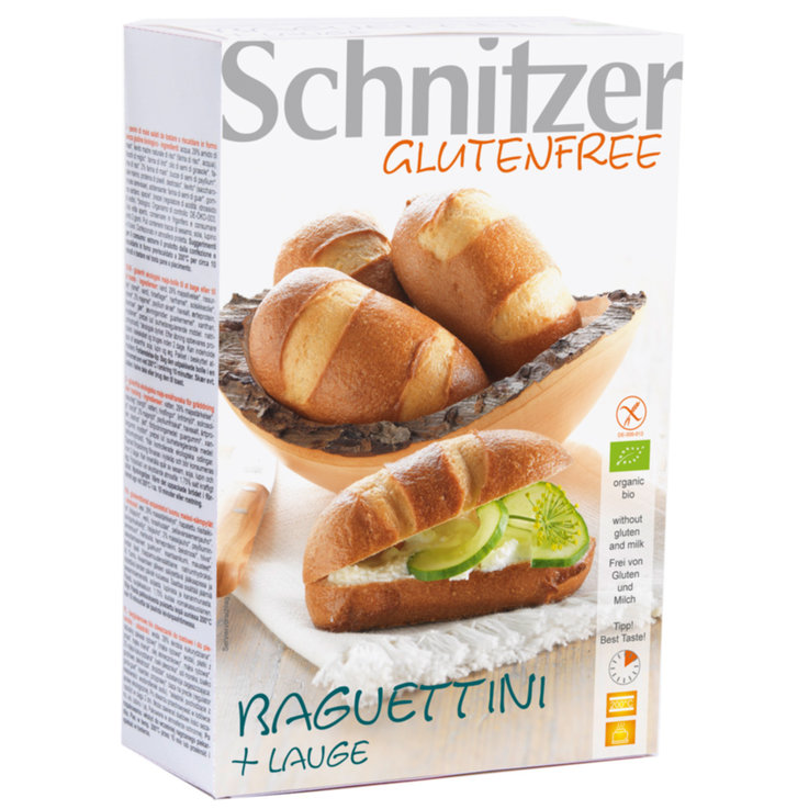 Ready-to-Bake Breads - Schnitzer Organic Gluten Free Baguettini