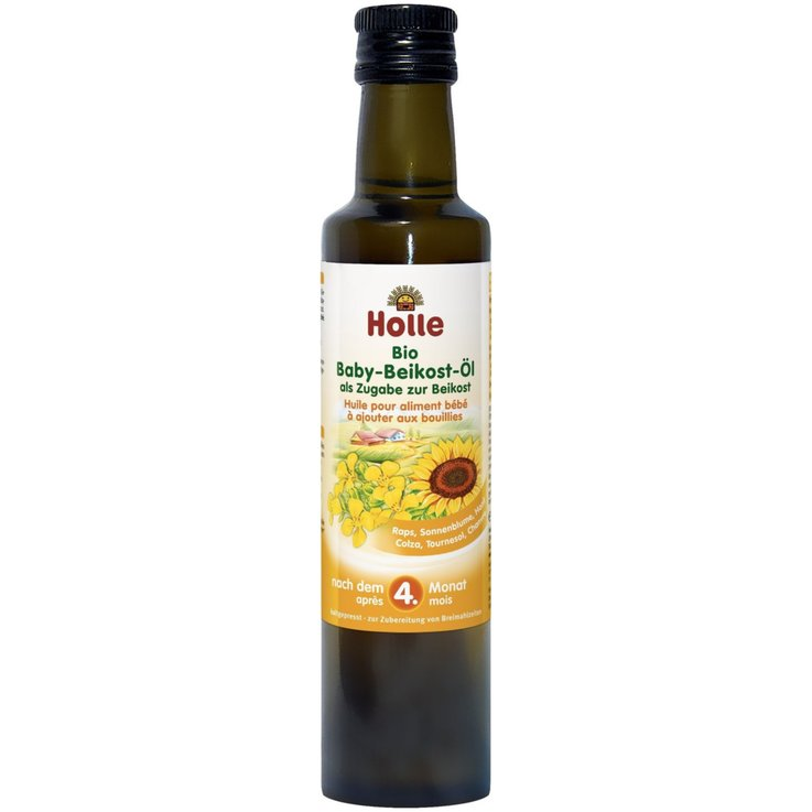 Baby Food - Holle Organic Oil for Baby Food 4 Months+