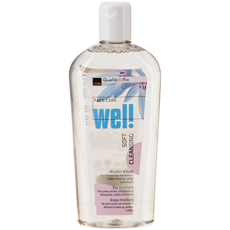 Facial Cleanser & Tonic - Wel! Micellar Water for Dry Skin