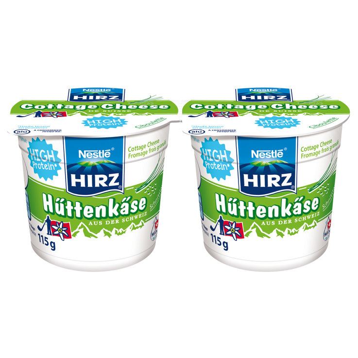 Cottage cheese - Hirz cottage cheese all'erba cipollina 2x115g