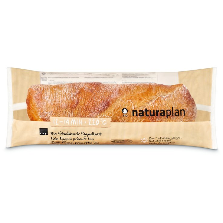 Ready-to-Bake Breads - Naturaplan Organic Fresh Pagnol Bread