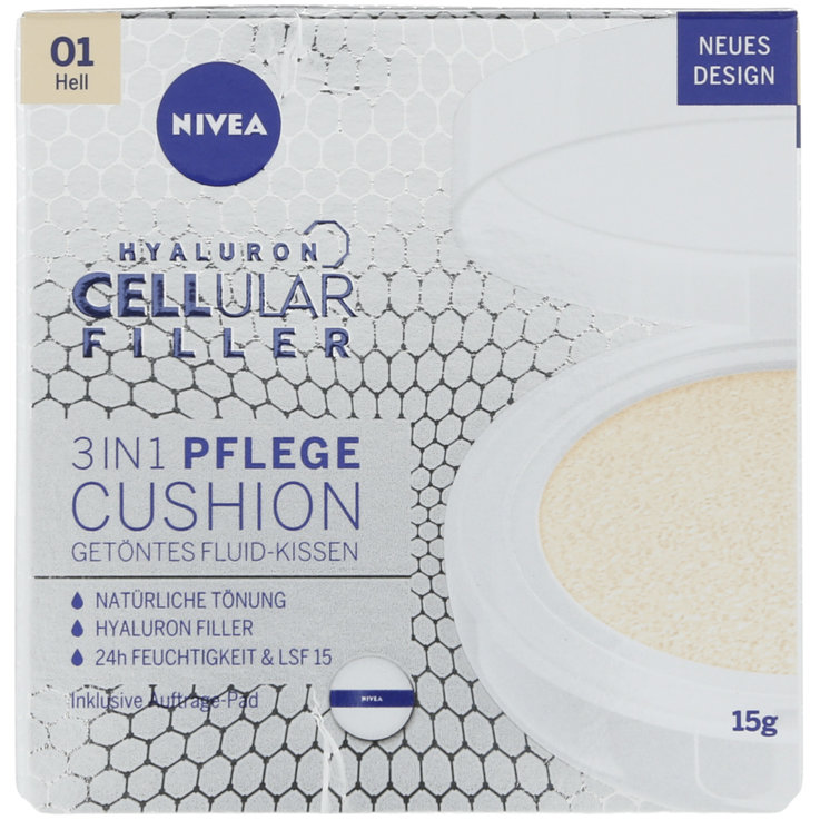 Make-Up - Nivea Hyaluron Filler Getöntes Fluid Kissen Hell
