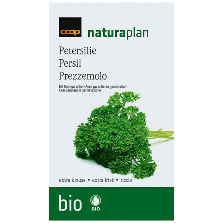 Seeds - Naturaplan Organic Extra Parsley Seeds