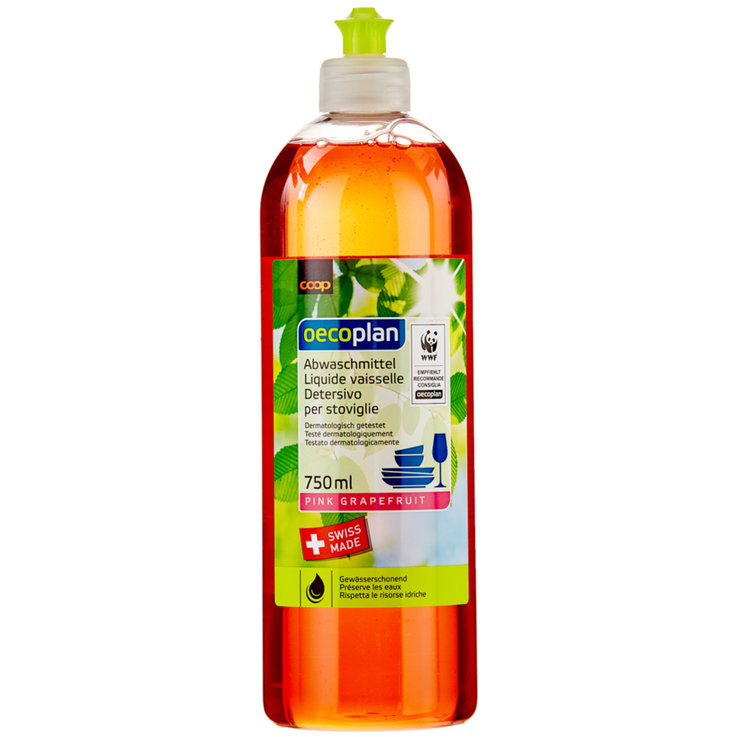 Dishwashing Soap - Oecoplan Pink Liquid Dish Soap