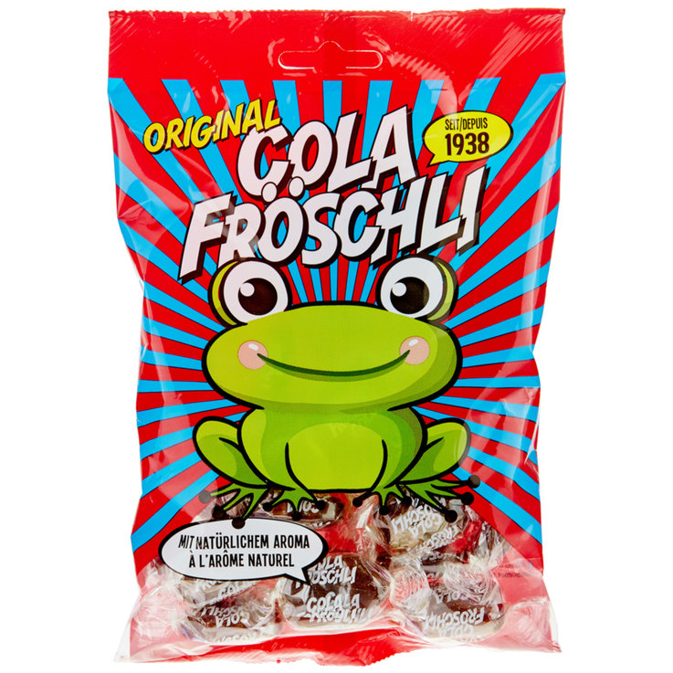 Soft Sweets & Lozenges - Cola Frog Candies