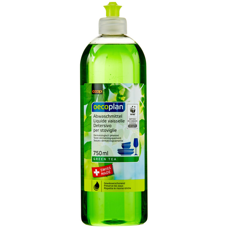 Dishwashing Soap - Oecoplan Green Tea Liquid Dish Soap