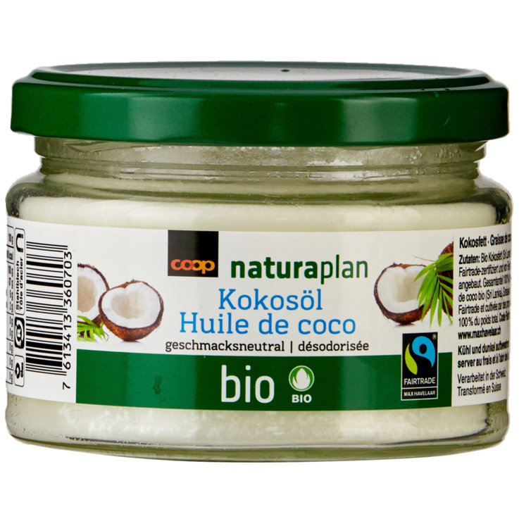 Cooking Butter & Cooking Fat - Naturaplan Organic Fairtrade Deodorizing Coconut Fat