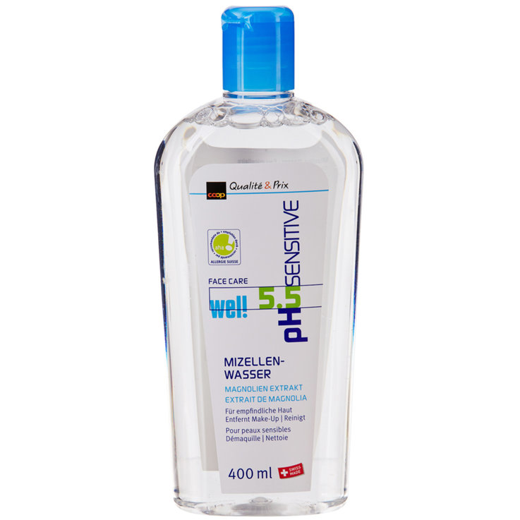 Facial Cleanser & Tonic - well pH-Sensitive Micellar Water