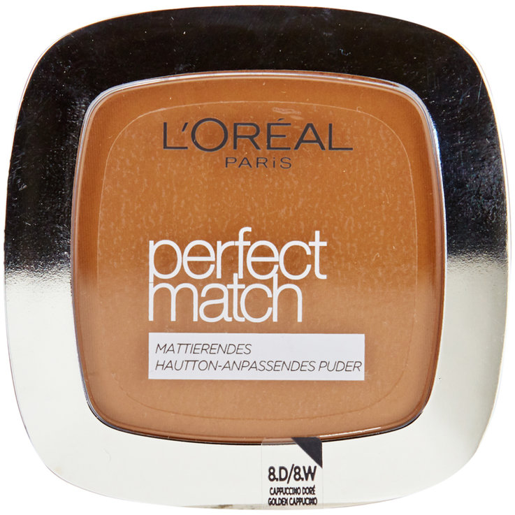Gesicht - L'Oréal Paris Perfect Match 8D/8W Golden Cappuccino