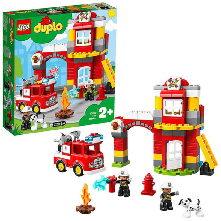 LEGO - Lego Duplo 10903 Fire Station 2 Years+
