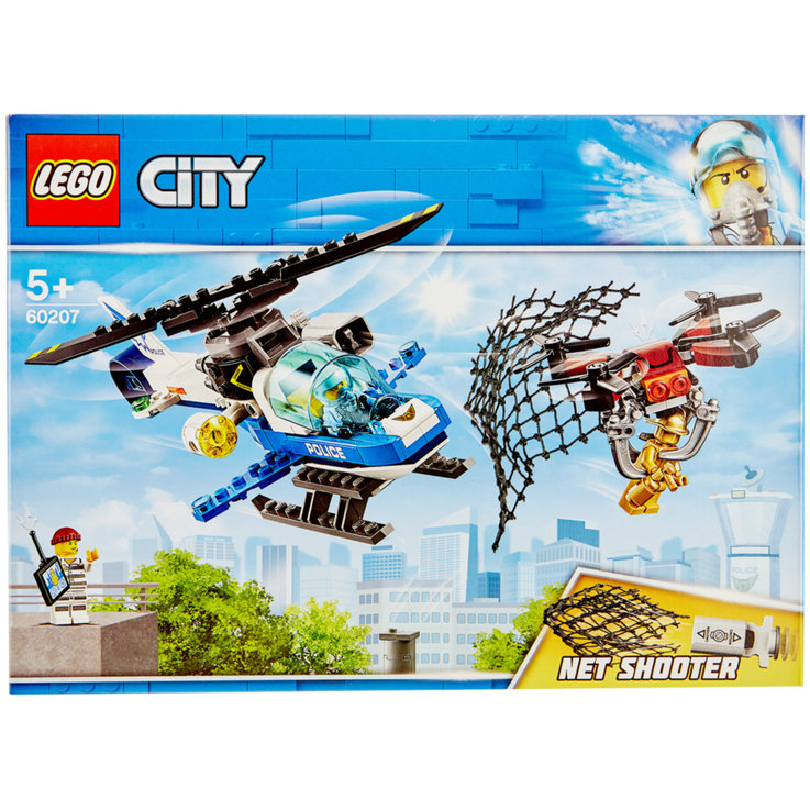 Lego - Lego® City Police Drone Chasse 60207 5 Years+