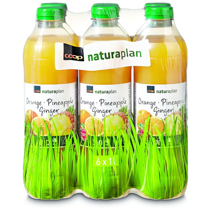 Other Fruit Juices - Naturaplan Organic Orange Pineapple Ginger Jus 6x1l