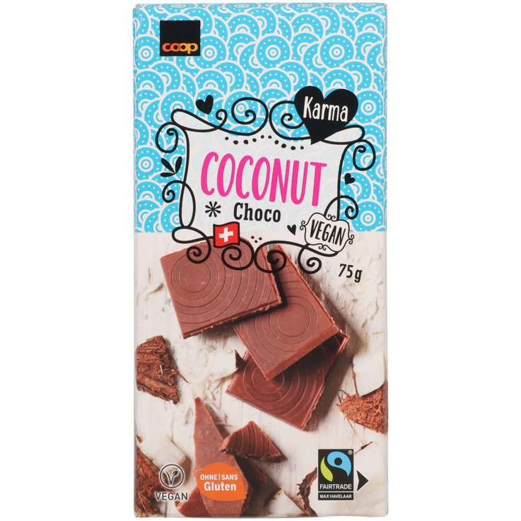 Milk - Karma Fairtrade Light Coconut Bar