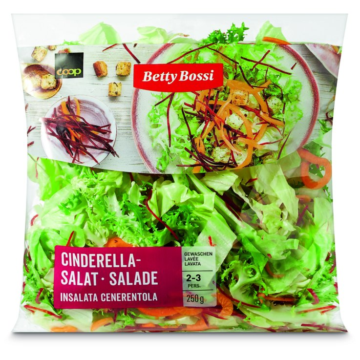Pre-Packaged Fresh Salads - Betty Bossi Cindarella Salad