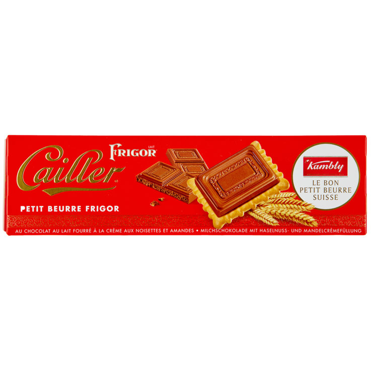 Chocolate Covered - Kambly Cailler Petit Beurre Frigor Cookies