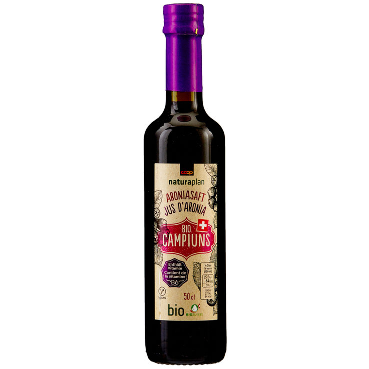 Grape Juice & Grape Must - Naturaplan Organic Campiuns Aronia Berry Juice
