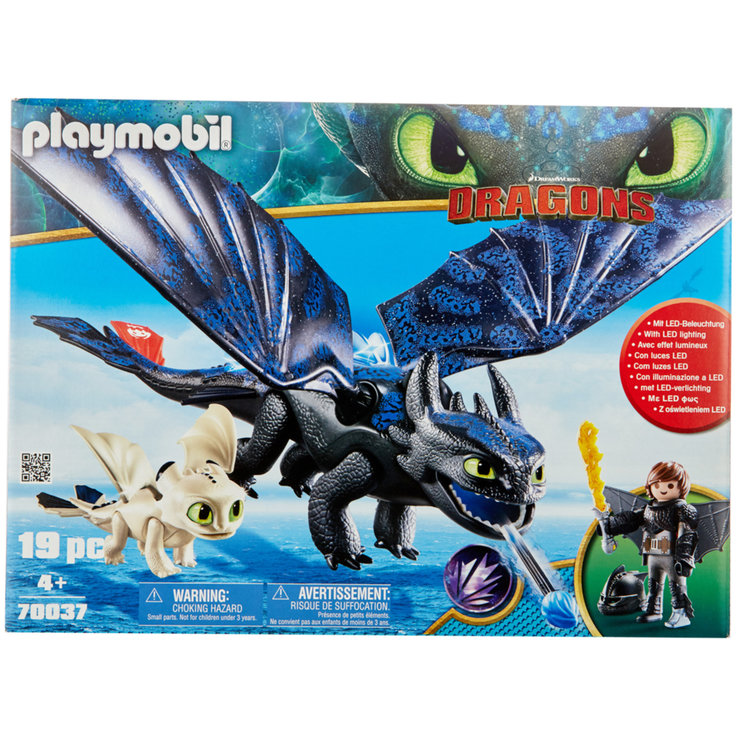 Playmobil - Playmobil Toothless & Hicks 70037 4 ans+