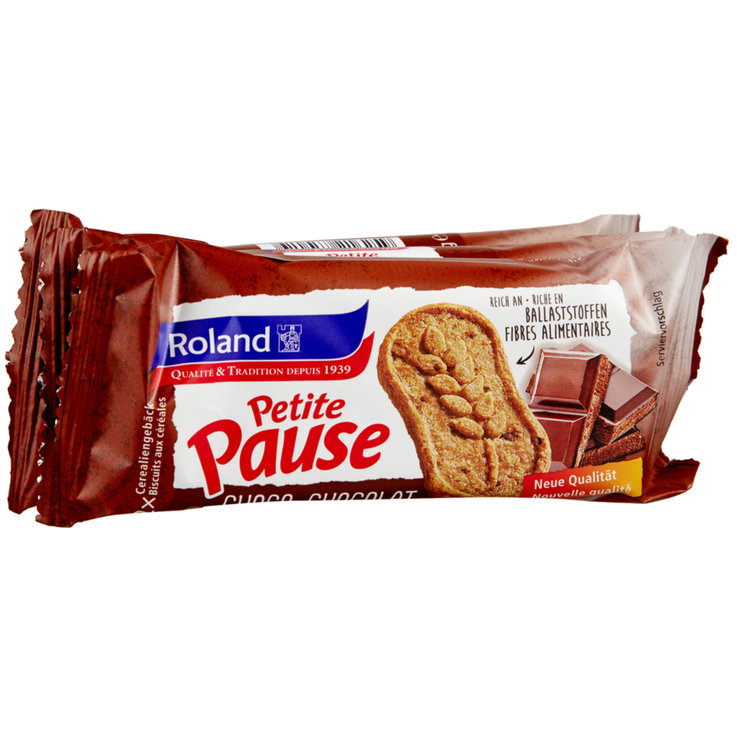 Chocolate Added - Roland Petite Pause Chocolate Cereal Cookies