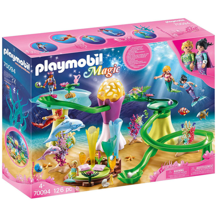 Playmobil - Playmobil 70094 Coral Pavillion with Illuminated Dome 4 Years+