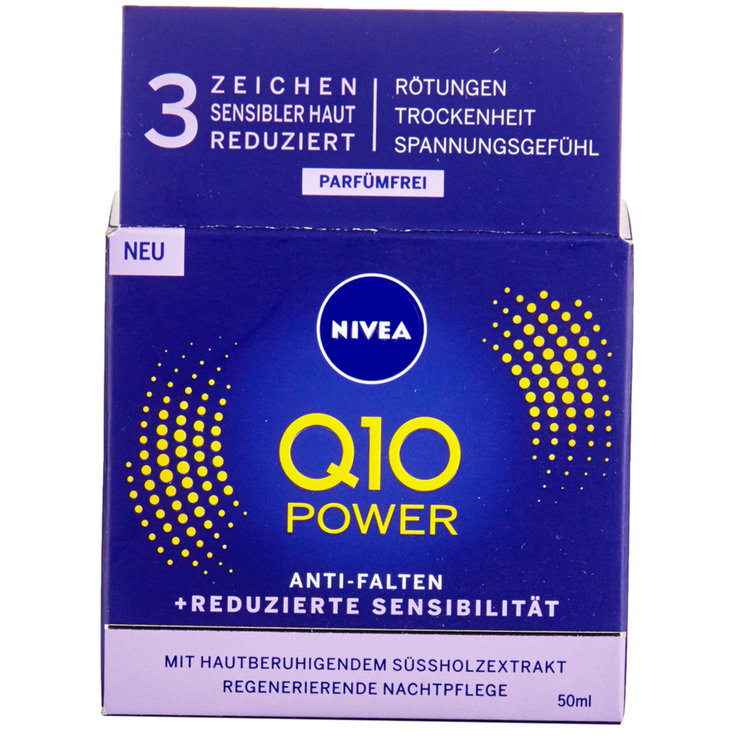 Mature Skin & Anti-Age - Nivea Q10 Power Night Cream