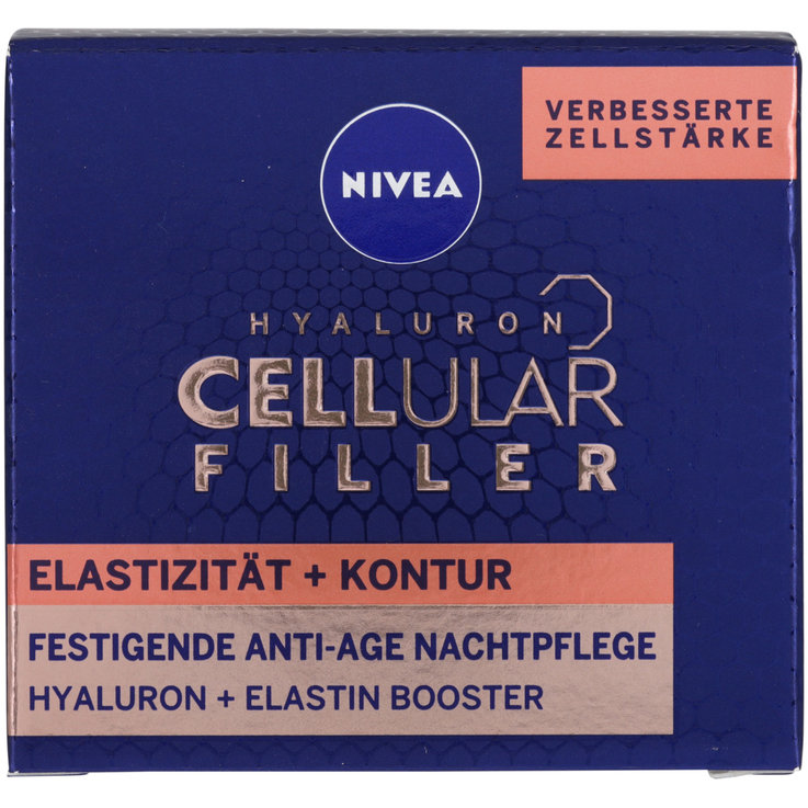 Normal & Mixed skin - Nivea Hyaluron Cellular Filler Night Cream