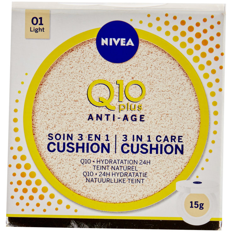Sensitive & Dry Skin - Nivea Q10 3in1 Pflege Cushions Hell