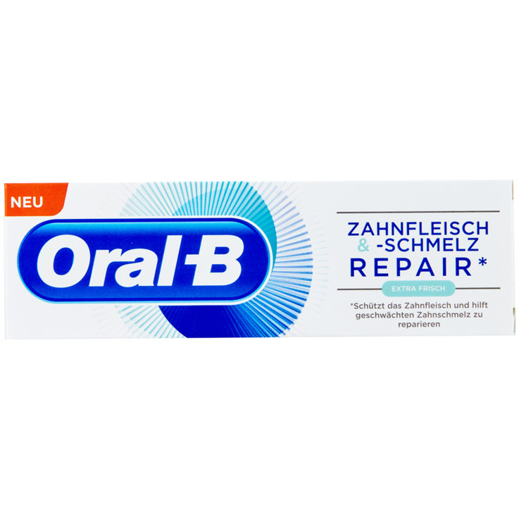 Toothpaste for Adults - Oral-B Repair Extra Fresh Gum & Enamel Care Toothpaste