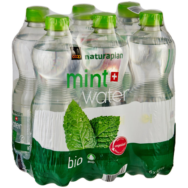 Flavoured - Naturaplan Organic Mint Water 6x50cl