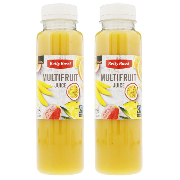 Autres jus frais - Betty Bossi Fairtrade Jus aux multifruits 2x  300ml