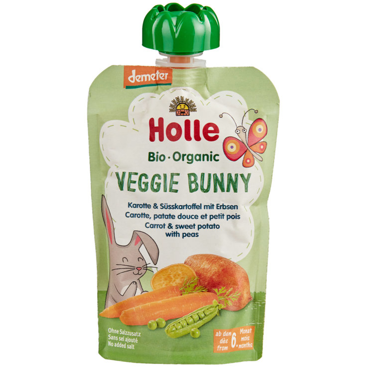 Smoothies - Holle Demeter Veggie Bunny Pouchy 6+ Monate