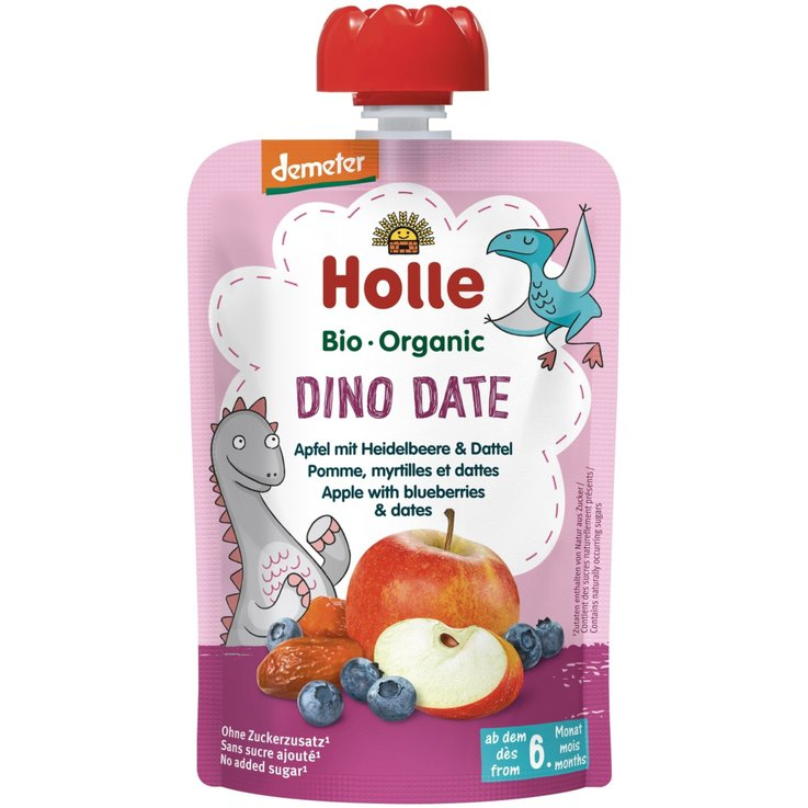 Smoothies - Dino Date Pouchy 6+ Monate