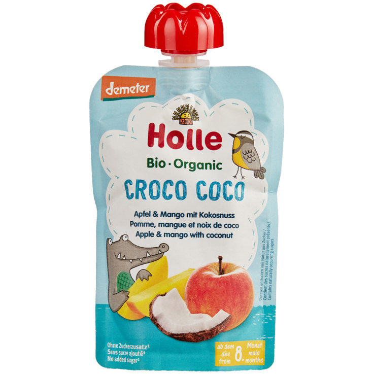 Smoothie - Pouchy Croco Coco Holle, 8m+