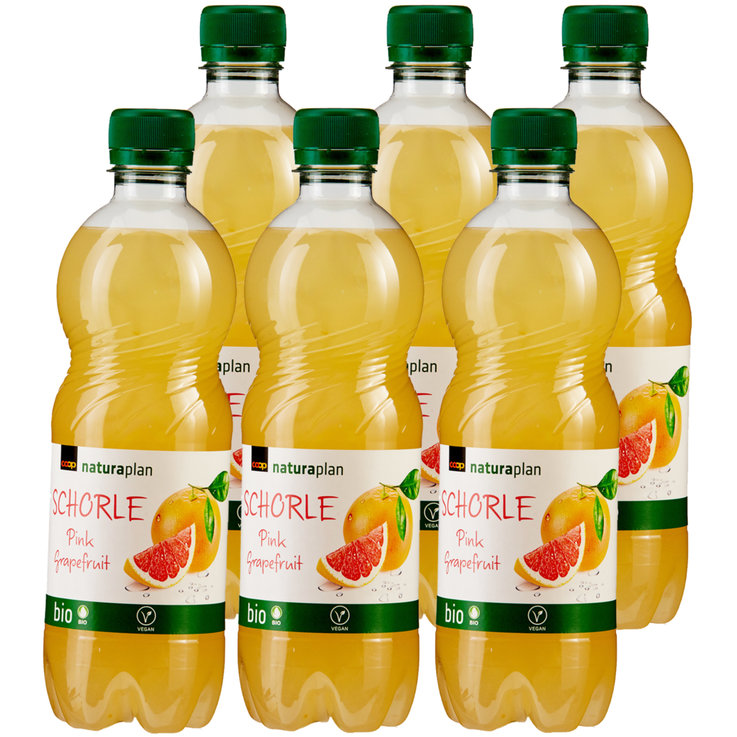 Other Limonades - Naturaplan Organic Grapefruit Schorle 6x  50cl