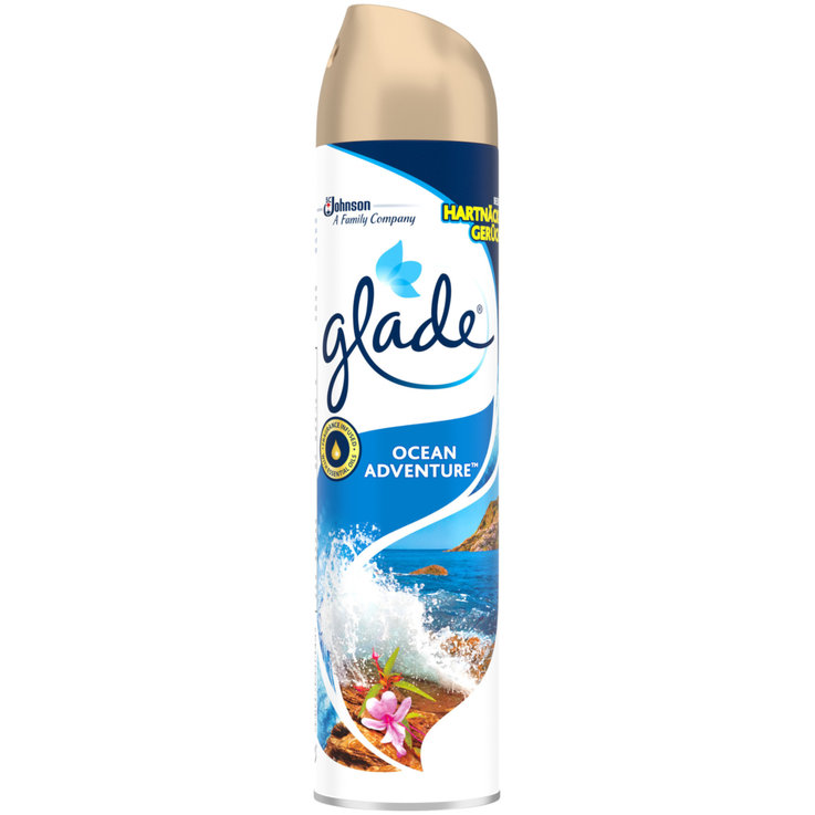 Raumsprays - Glade Duftspray Ocean Advent. 300ml