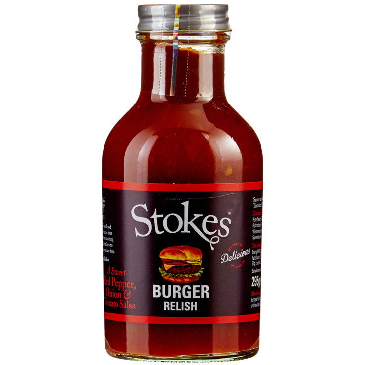 Buy Stokes Burger Relish Sauce 295g Cheaply Coop Ch