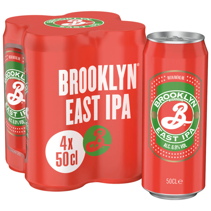 Dosen - Brooklyn Bier EIPA 4x50cl