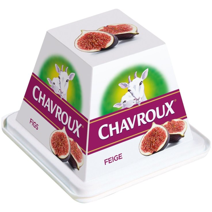 Goat''s & Sheep''s Cheese - Chavroux Fig Goat Cheese