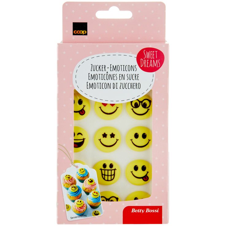 Decorations & Lettering - Betty Bossi Sugar Emoticons